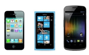 iPhone vs Windows Phone 8 vs Android